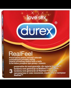 Prezervative Durex Real Feel 3buc