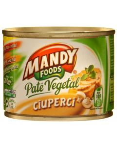 Pate vegetal cu ciuperci Mandy 200g