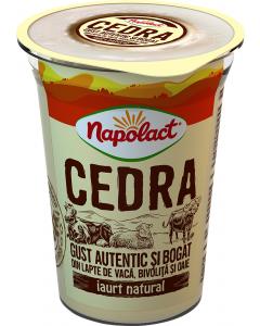 Iaurt natural din lapte de vaca, bivolita si oaie Napolact 141g