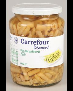 Fasole galbena pastai Carrefour Discount 660g