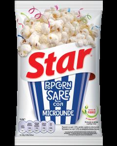 Popcorn microunde cu sare Star 80g