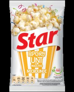 Popcorn microunde cu unt Star 80g