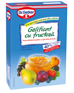 Gelifiant cu fructoza dietetic Dr.Oetker 350g