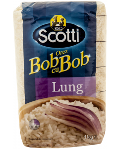 Orez Bob cu Bob Lung Riso Scotti 1kg