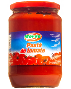 Pasta de tomate Merve 720g