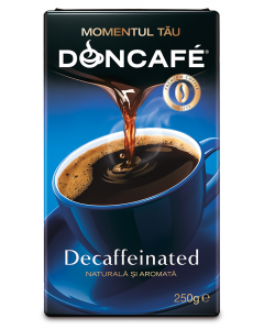 Cafea prajita si macinata Doncafe Decaffeinated 250g
