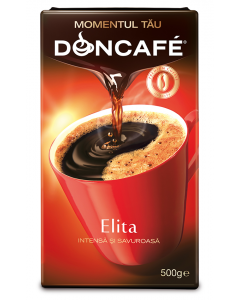 Cafea prajita si macinata Doncafe Elita 500g