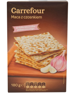 Paine prajita cu usturoi Carrefour 180 g