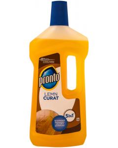 Detergent lichid Pronto lemn curat 5 in 1 750ml