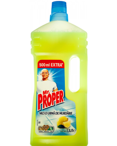Detergent pentru pardoseli Mr. Proper Lemon 1.5L