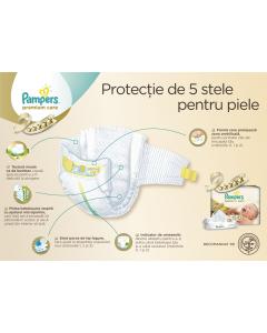 Scutece Pampers Premium Care 120 bucati, 3 midi, 4-9kg