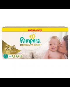 Scutece Pampers Premium Care 104 bucati, 4 maxi, 7-14kg