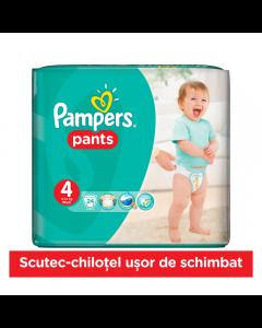 Scutece chilotei Pampers Pants, pachet 24 bucati, 4 Maxi, 9-14 kg