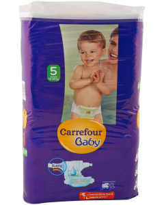 Scutece junior 12-25 kg Carrefour 64 buc