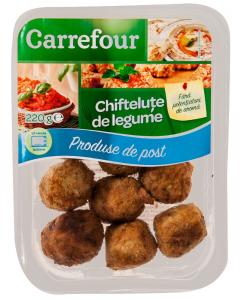 Chiftelute de legume Carrefour Produse de Post 220g