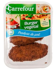 Burger vegetal Carrefour Produse de Post 210g