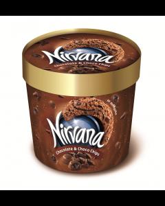 Inghetata cu aroma de ciocolata si cacao Nirvana 130g