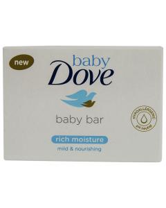 Sapun crema pentru bebelusi Baby Dove Rich Moisture 75g