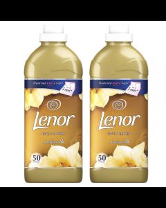 Balsam de rufe Lenor Gold Orchid, 2x1.5l