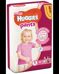 Huggies Pants D Mega nr 5 Girl 44 buc  12-17 kg
