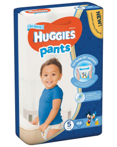 Huggies Pants D Mega nr 5 Boy 44 buc 12-17 kg