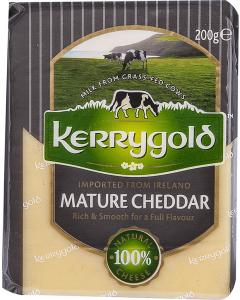 Branza Cheddar maturata Kerrygold 200g