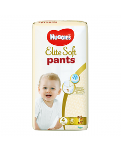 Scutece chilotel Huggies Elite Soft Pants Mega Pack 4, 9-14 kg, 42 buc