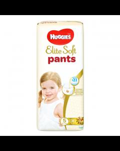 Scutece chilotel Huggies Elite Soft Pants Mega Pack 5, 12-17 kg, 38 buc