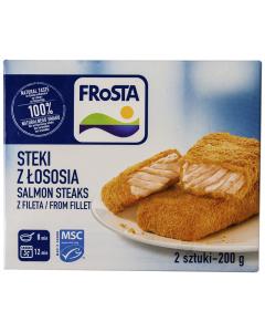 Salmon Steaks Frosta 200g