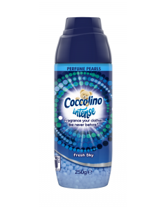 Perle parfumate pentru rufe Coccolino Intense Fresh Sky 250g