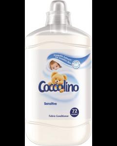 Balsam de rufe Coccolino Sensitive, 72 spalari, 1.8l