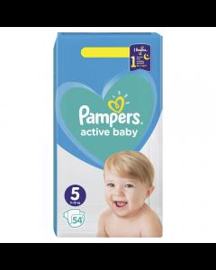 Scutece Pampers Active Baby Marimea 5, 11-16 kg, 54 buc