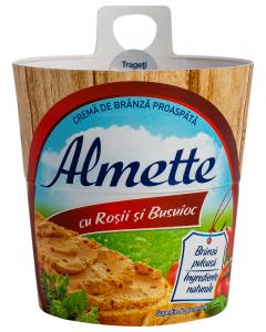 Crema de branza cu rosii si busuioc Almette 150G