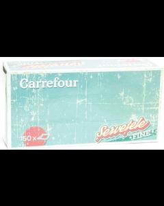 Servetele cutie 150 bucati 2 straturi Carrefour