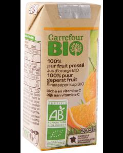 Suc de portocale Carrefour Bio 200ml