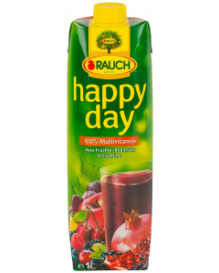 Suc multi fructe Happy Day Rauch 1L