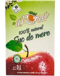 Suc 100% natural de mere Aroma 3 L