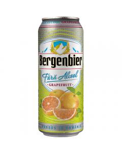 Bere fara alcool cu aroma de grapefruit Bergenbier Fresh 0.5L