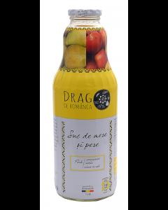 Suc de mere si pere Drag de Romania 1 l