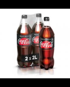 Coca-Cola Zero Zahar 2X2L PET