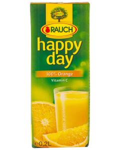 Suc de portocale Happy Day Rauch 200ml