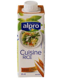 Crema de orez pentru gatit Alpro 250ml