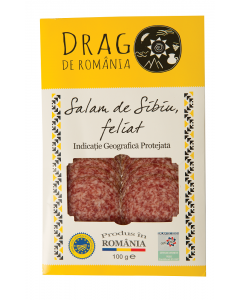 Salam de Sibiu Drag de Romania 100g