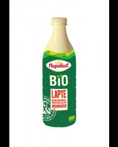 Lapte bio 3.8% grasime Napolact 1.4L