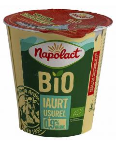 Iaurt bio 0.9% grasime Napolact 140g