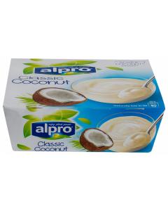 Desert din soia cu nuca de cocos Alpro Classic Coconut 500g