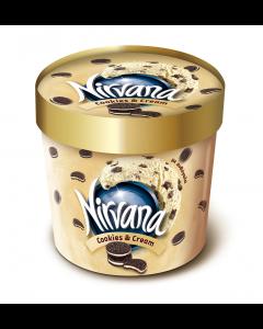 Inghetata cookies & cream Nirvana 122g