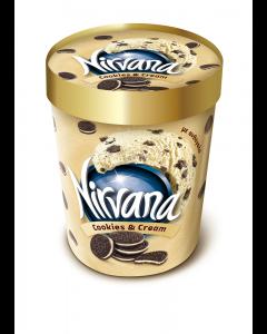 Inghetata cookies & cream Nirvana 335g