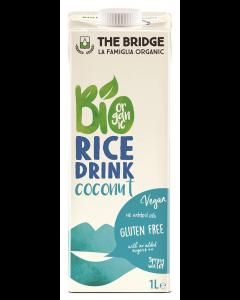 Bautura bio din orez cu cocos The Bridge 1L