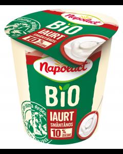 Iaurt bio 10% grasime Napolact 140g